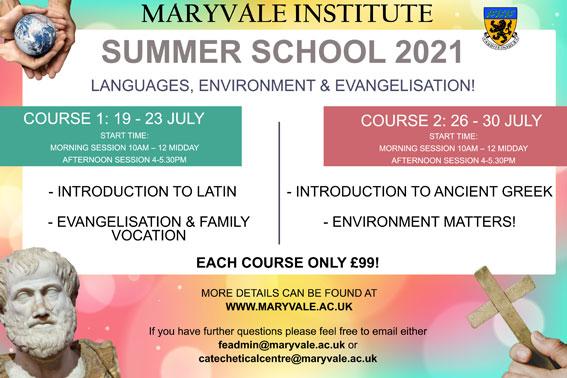 Summer School Flyer
